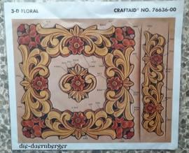 76636 3-D Floral - Bild vergrößern