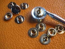 Druckknopf-Set 12 mm - Bild vergrößern
