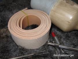 Gürtelrohling Gürtelriemen 2,0 - 2,5 mm - Bild vergrößern