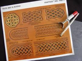 Craftaid Celtic Belt + Buckle 76611 - Produktbild