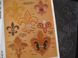 76607 Craftaid Fleur de Lis  - Bild vergrößern