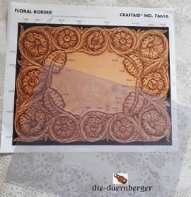 76626 Craftaid Deco Floral Wallet - Bild vergrößern