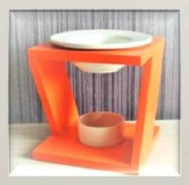 Duftlampe Aromalampe -Z- orange - Bild vergrößern