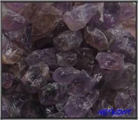 Amethyst Chips Rohsteine naturrein Brasilien 1kg - Bild vergrößern