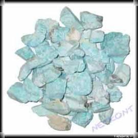 Amazonit Chips Rohsteine naturrein Madagaskar 1kg - Bild vergrößern