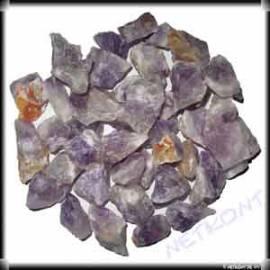 Amethystquarz Chips Rohsteine naturrein Madagaskar 1kg - Bild vergrößern