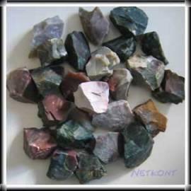 Jaspis bunt, Chips Rohsteine naturrein Indien 1kg - Bild vergrößern
