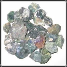 Moosachat, Chips Rohsteine naturrein Indien 1kg - Bild vergrößern