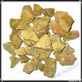 Opal grün Chips Rohsteine naturrein Madagaskar 1kg - Bild vergrößern