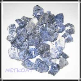 Sodalith Chips Rohsteine naturrein Brasilien 1kg - Bild vergrößern