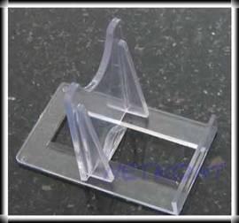 10 Stück Ständer für Achatscheiben und Mineralien Halter für Teller verstellbar - Bild vergrößern
