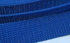 Gurtband 15 mm stahlblau - Bild vergrößern