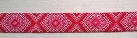 Webband Marrakesch pink - Bild vergrößern