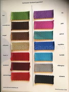 Farbmusterkarte Nylongurtband NEU!!! - Bild vergrößern
