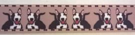 Ripsband Bullterrier - Bild vergrößern