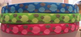 Gurtband circles 25 mm - Bild vergrößern