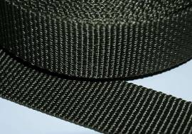Gurtband 40 mm schwarz  stark - Bild vergrößern