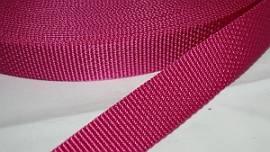Gurtband 30 mm pink stark - Bild vergrößern
