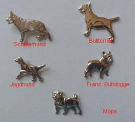 Ziernieten  Französische Bulldogge - Bild vergrößern