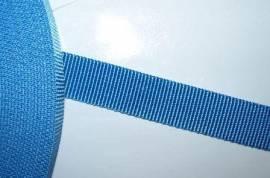 Gurtband 20 mm blau stark - Bild vergrößern