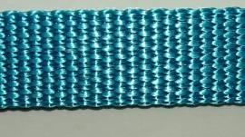 hochwertiges Gurtband karibikblau - Bild vergrößern