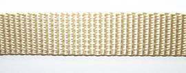 Gurtband 25 mm beige - Bild vergrößern
