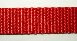 hochwertiges Gurtband feuerrot - Bild vergrößern