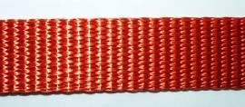 hochwertiges Gurtband kürbisorange - Bild vergrößern