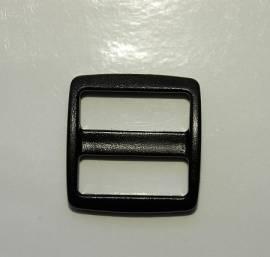 Schieber Kunststoff 25 mm mit breitem Durchlass - Bild vergrößern