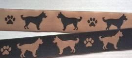 Webband Terrier Hütehund Berger  - Bild vergrößern