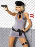 Kostüm Police - 5-teiliges Set von Obsessive