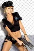 Kostüm Police - 6-teiliges Set von Obsessive