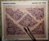 72028 Craftaid Sheridan Corners Ecken Floral