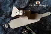 Armband Leder mit Dorn-Schnalle