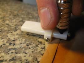 Swivel-Knife-Halter / Randmarkierer <--Border Tool//--> - Bild vergrößern
