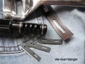 Ersatzklinge für beide Lederhobel und Riemenschneider Kunststoff