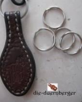 Schlüsselring 26 mm vernickelt