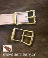 Schließe Rollschnalle messing 25 mm