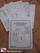 Schnittmuster Satteltaschen / Hornbags