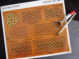 76611 Craftaid Celtic Belt + Buckle