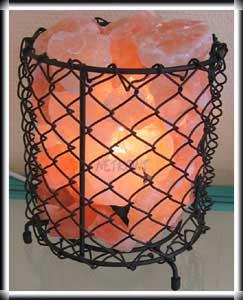Glutschale, Feuerkorb, Salzkristalllampe, Wohnraumlampe,  NEU