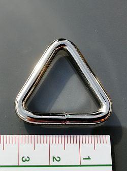 Dreieckring, Triangelring 25 mm NEU