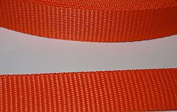 Gurtband 30  mm orange