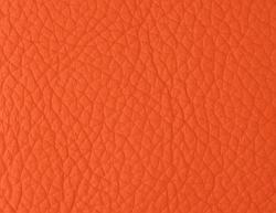 Leder orange