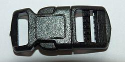 Steckschließe gebogen 10 mm