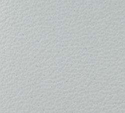 Leder weiß 15 x 57  cm