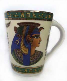 Porzellantasse Königin Kleopatra. Nr-857 - Bild vergrößern