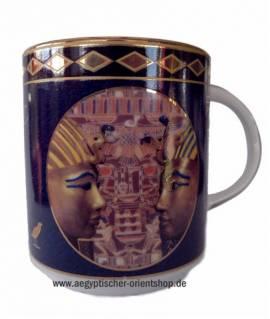 Porzellan-Tasse Tutanchamun.Nr-862 - Bild vergrößern