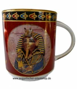 Porzellan-Tasse Tutanchamun.Nr-864 - Bild vergrößern