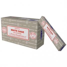 Weißer Salbei (White Sage) Räucherstäbchen - Bild vergrößern